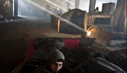 Dire Conditions of Refugees in European Camps
