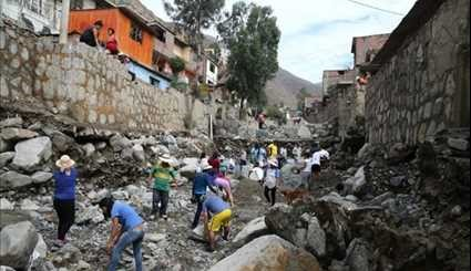 Death Toll Rises to 72 in Peru Rains, Flooding, Mudslides