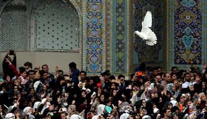 Imam Riza Shrine in Mashhad hosts Nowruz festival