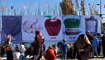 Nowruz camps in Gorgan