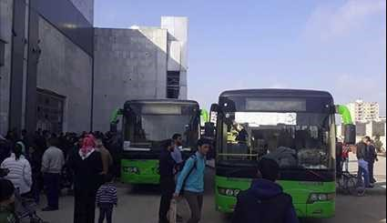 Syria: More Gunmen, Family Members Leave Homs for Idlib