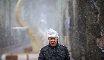 Spring snow in Karaj