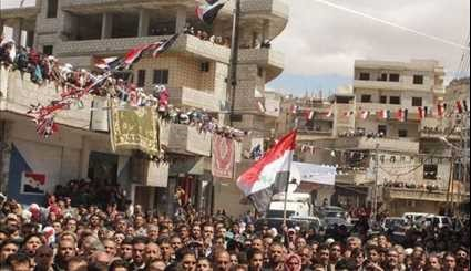 People of Deir Qanoun Celebrate Liberation of Their Town from Al-Nusra