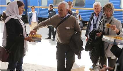 Foreign Tourists visit Kerman Province