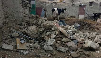 Strong quake causes damages to Fariman region