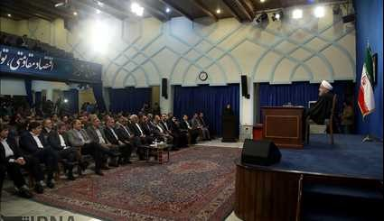 Pres. Rouhani holds 10th presser