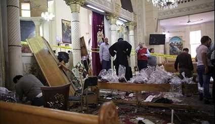 Bombings at Churches in Egypt Leave at Least 37 Dead