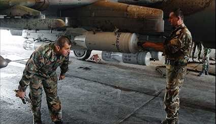 Syria's Shayrat Air Base Resumes Operation against Terrorists