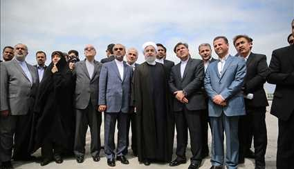 Rouhani arrives in Mazandaran