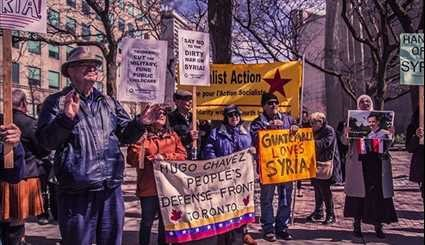 Canada: Toronto Protesters Denounce US Bombing of Syria