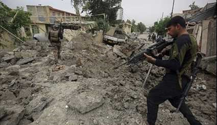 Iraqi Forces Advancing in Western Mosul