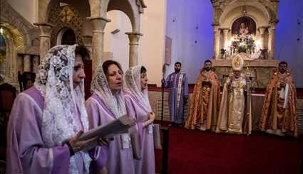 Easter celebrated in Tehran's Cathedral