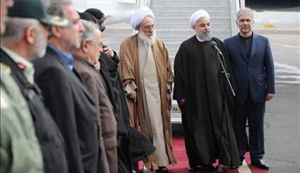 Rouhani in Tabriz to visit flood-affected areas