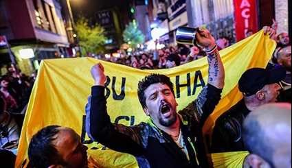 Turkey Referendum Results Spark Rallies