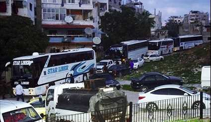 End of Suffering: 250 People from Fua'a and Kefraya Arrive in Lattakia