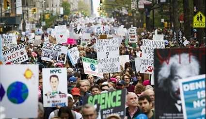 Thousands March Worldwide to Protest Donald Trump's 'Rejection of Science'