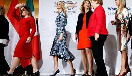 Ivanka Trump on the world stage