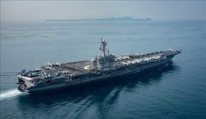 USS Carl Vinson on patrol