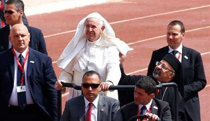 Pope visits Egypt