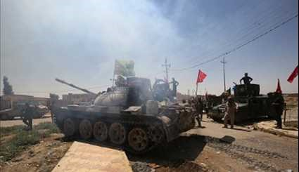 Iraqi Popular Forces Advancing Southwest of Mosul