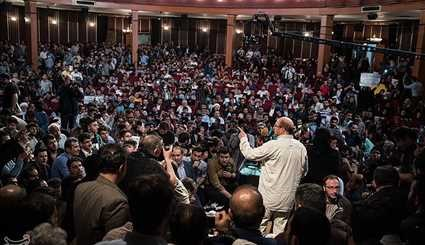Supporters of Qalibaf Hold Mass Meeting in Tehran
