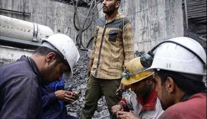 Iran's Coal Mine Incident Rescue Operation Continue to Save Trapped Miners