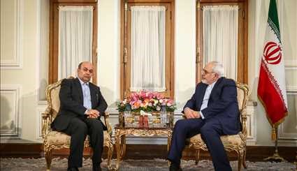 Zarif meets APA SG, Norwegian official