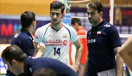 Iran beats Kazakhstan in Asian Volleyball Championship