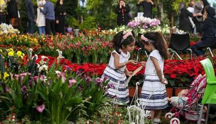 15th Intl. Flower Expo kicks off in Tehran