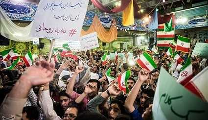 Presidential Candidate Raisi Addresses Campaign Rallies near Tehran