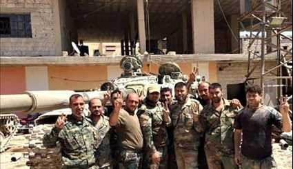 Damascus: Most of Al-Qaboun District under Syrian Army Control