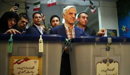 Officials, candidates take part in presidential election