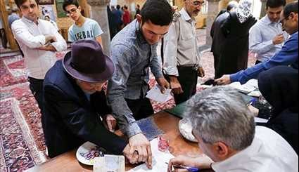 Iranians Queue up to Vote in Presidential & City Council Elections