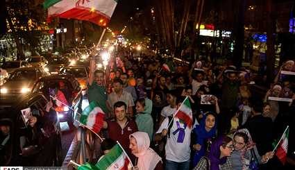 Rouhani reelection celebrated in Tehran - 1