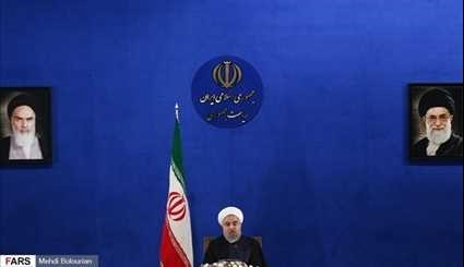 Rouhani's press conference on Monday