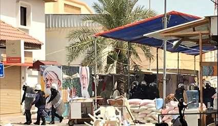 Bahraini Regime Forces Storm Top Shiite Cleric's Village