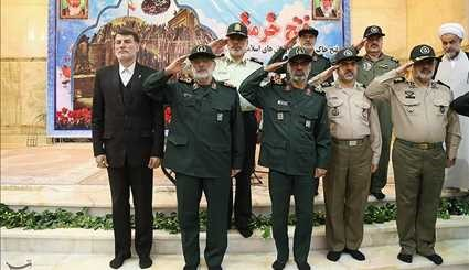 Reunion group of commanders and units of the armed forces
