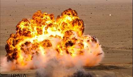 Army Ground Forces military drills in Isfahan