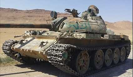 ISIL Leave Its Military Hardware behind as It Withdraws