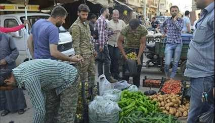 Syrians in Towns of Nubl & Al-Zahra Mark Holy Month of Ramadan