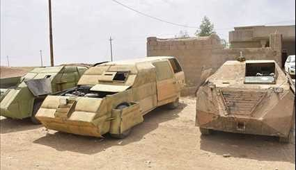 Iraqi Popular Forces Sieze ISIL's Military Equipment in Baaj