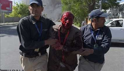 Explosion in Kabul's diplomatic district / Pictures