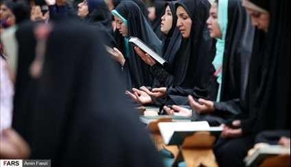 Holy Quran recited daily in Shiraz