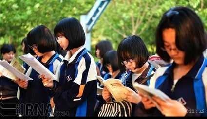 China started the world's biggest exam / Pictures