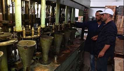 Syrian Military Factory Makes Ammunition for Fight against Terrorism