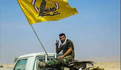 Iraq's Hashd Shaabi Liberates Strategic Crossing at Border with Syria