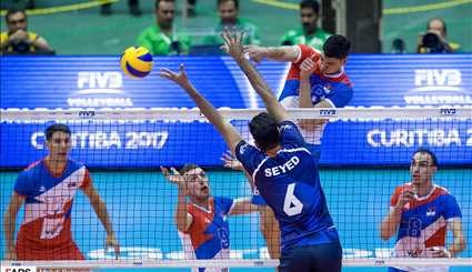 Iran suffers defeat against Serbia