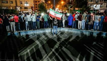 Iran Celebrates after Team Melli Book Ticket to 2018 World Cup (1)