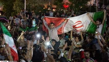 Iran Celebrates after Team Melli Book Ticket to 2018 World Cup (3)