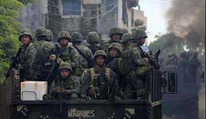 Philippines Army Continues Anti-ISIL Battle as City Siege Enters Fourth Week